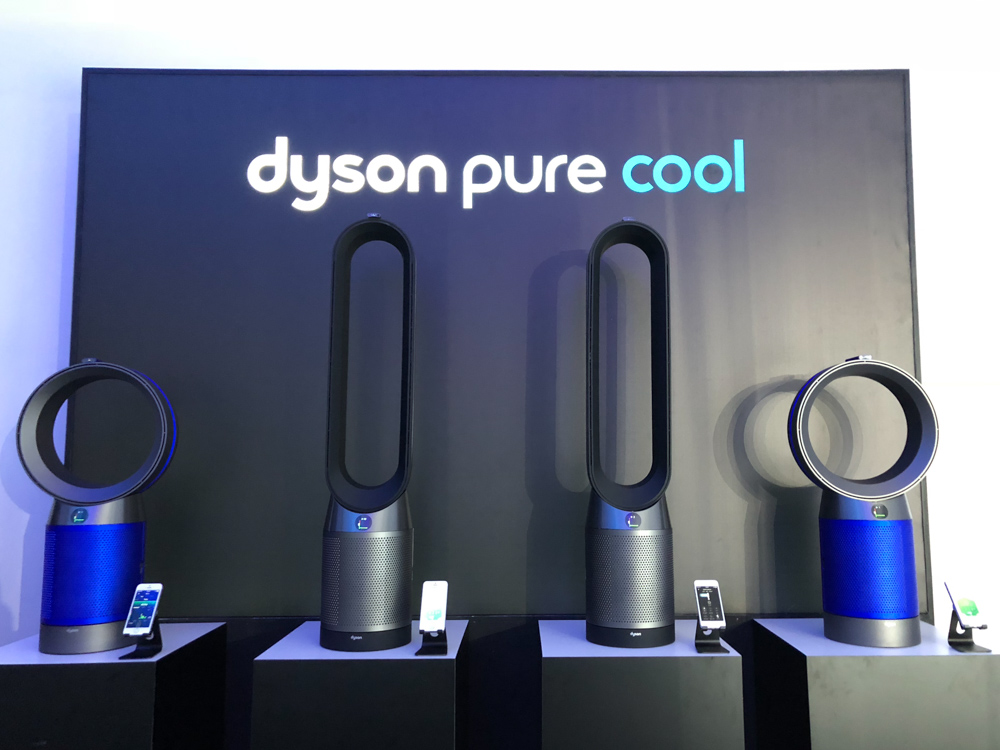 In Pictures The New Dyson Pure Cool Purifying Fans Tell