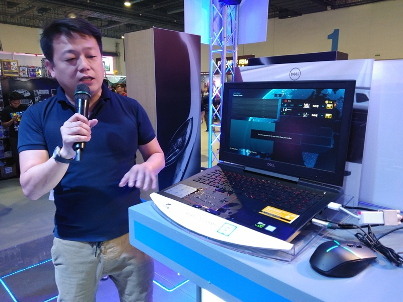 comiccon asia 2018, dell emc, philippines, ronnie latinazo, inspiron 15 7000, nvidia, max-q, gaming, laptops, notebooks, geforce, gtx 1060, 7th generation, intel core, 8th generation, inspiron 13 7000, inspiron 13 7000 2-in-1, alienware