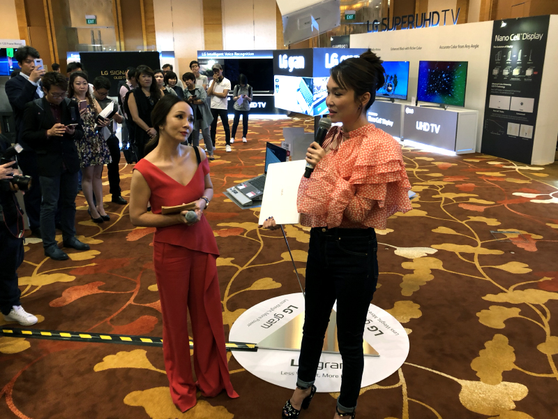 Fann Wong shares her experiences using the LG gram notebooks.