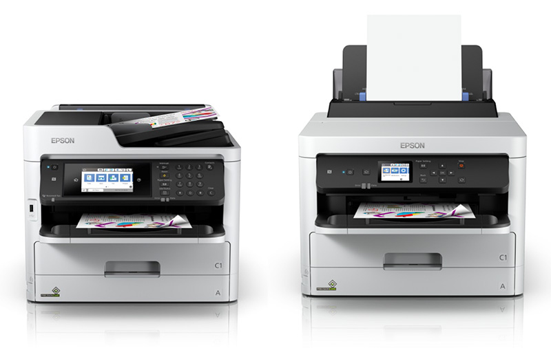 Epson's newest A4 inkjet printers can print thousands of