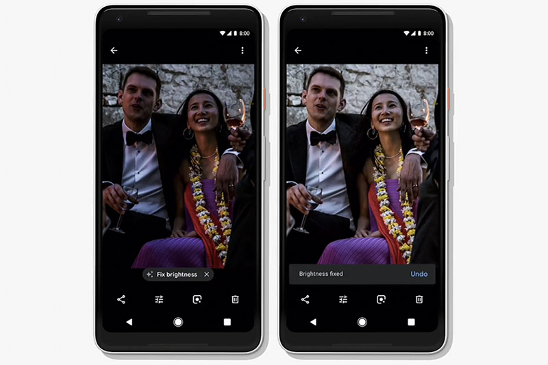 Use suggested actions to quickly fix your bad photos.