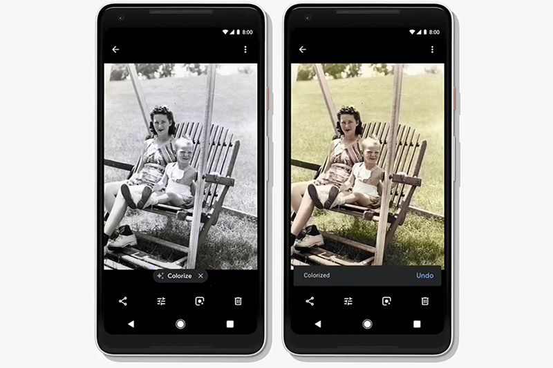 Colorize black-and-white photos, yo!