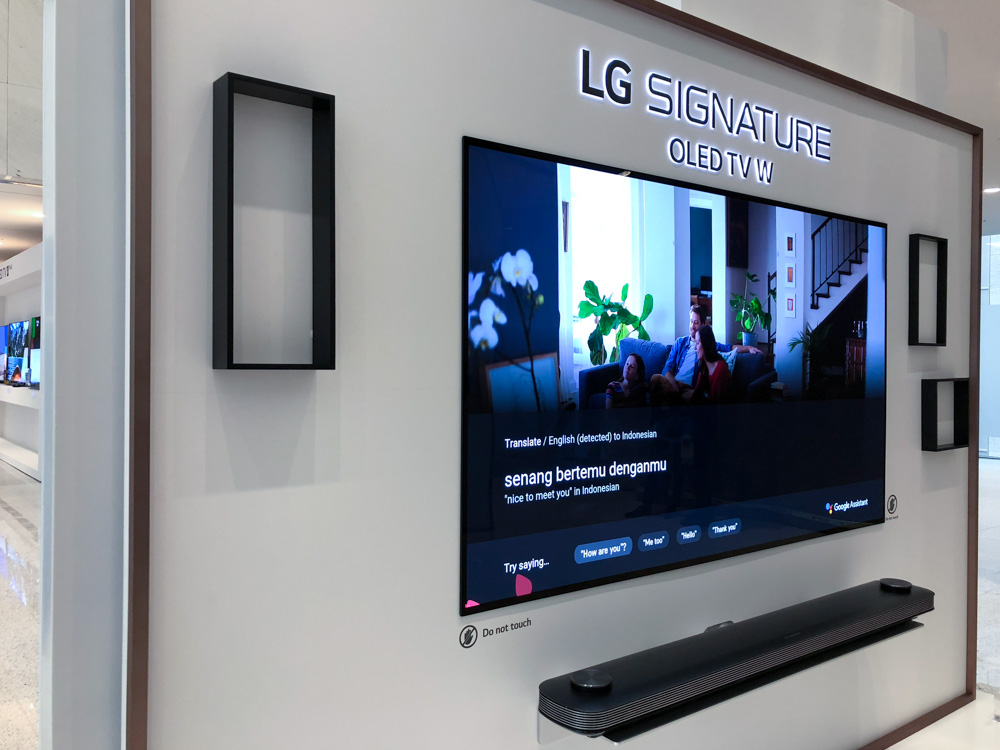 This is how artificial intelligence works on LG's 2018 OLED