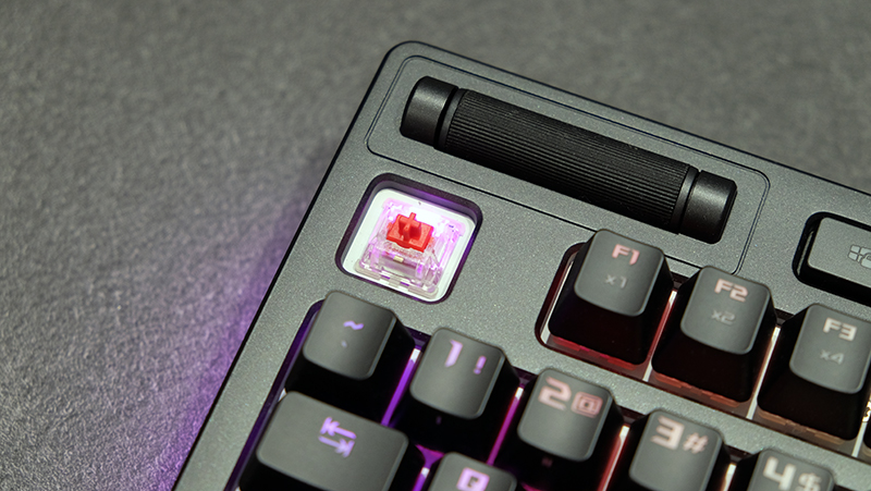 ASUS ROG Strix Flare review: Pretty lights all around