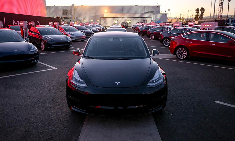 The Tesla Model 3. Image source: Tesla.