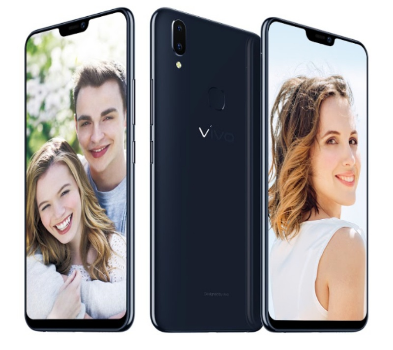 The Vivo V9 smartphone. <br> Image source: Vivo