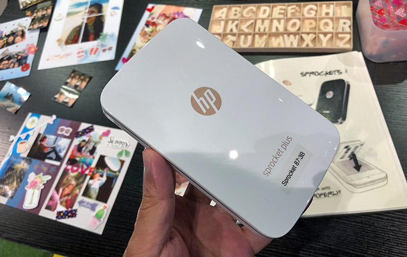 The Hp Sprocket Plus Portable Printer Lets You Print Your Social Media Photos With Ease Hardwarezone Com Sg