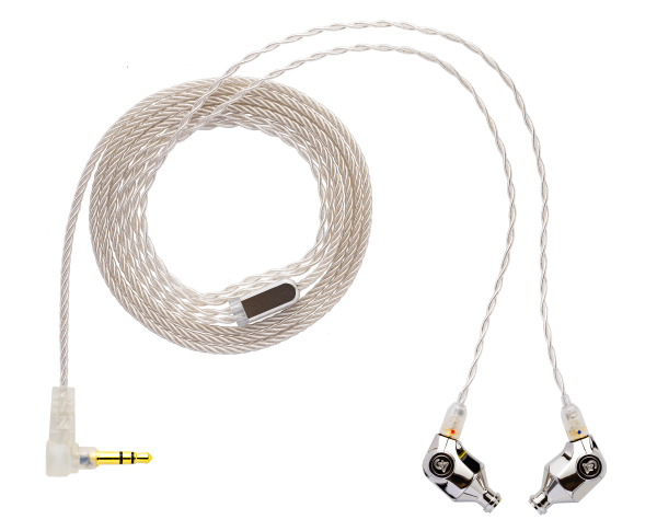 The Atlas' pure silver cable. (Image source: Campfire Audio)