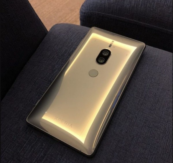 The Sony Xperia XZ2 Premium might also be available in