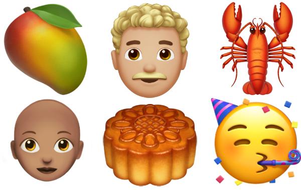 new emojis ios 12