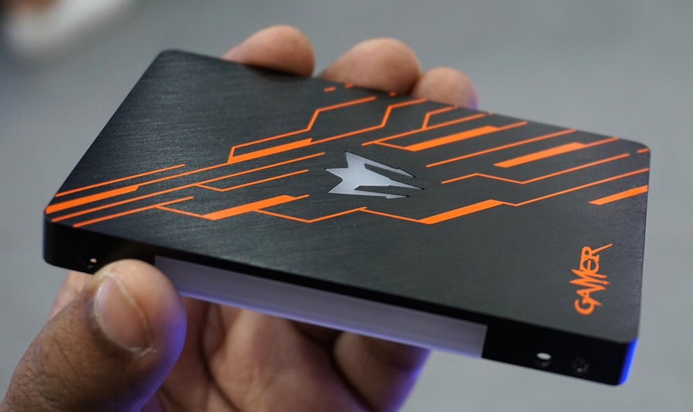 The Galax Gamer RGB SSD. It will use a Phison S11 controller.