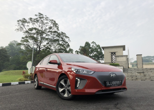 The Fully Electric Ioniq Can Be Distinguished By Its Closed Front Grille