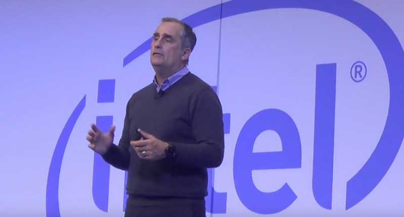 Intel CEO Brian Krzanich has resigned.