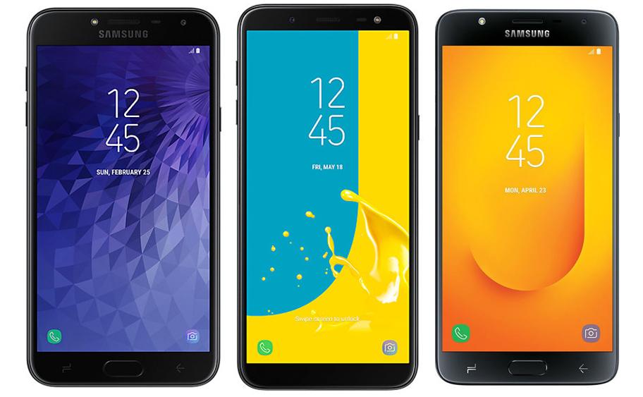 Samsung Announces New Entry Level J Series Smartphones