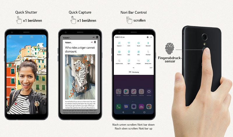 The LG Q7+ packs premium features for just S$598
