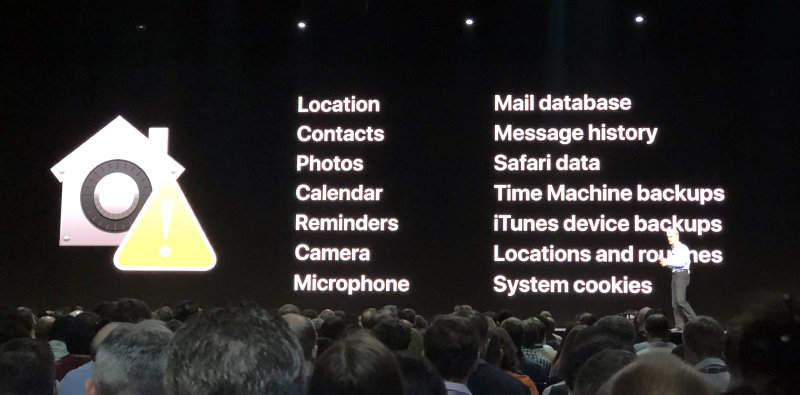 macOS Mojave is going to be more secure.