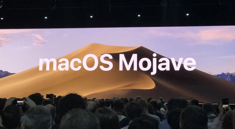 Behold, macOS Mojave!