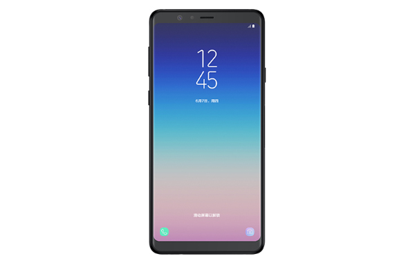 The Samsung Galaxy A8 Star. <br> Image source: Samsung