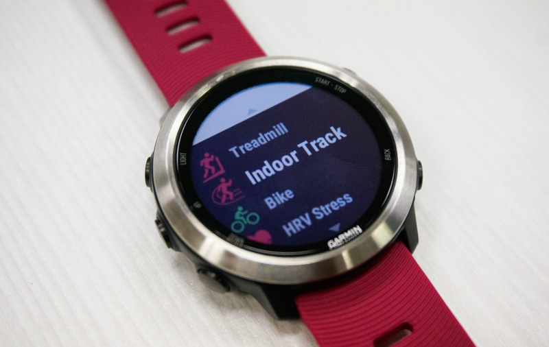 Plenty of activity tracking options are available on this watch.