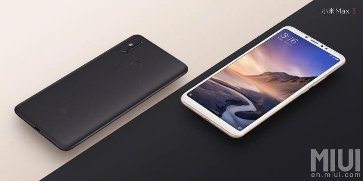Xiaomi Offers The Mi Max 3 With A Massive Screen And Battery For Less Than S350