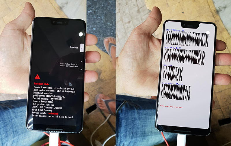 Latest leak suggests the Google Pixel 3 XL is getting a display