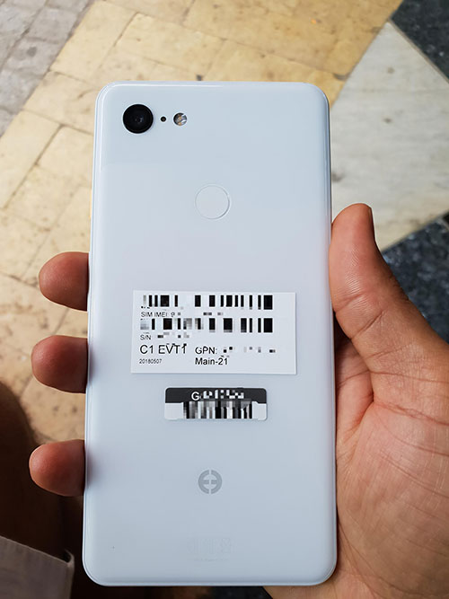 What, still one camera on the Pixel 3 XL?!