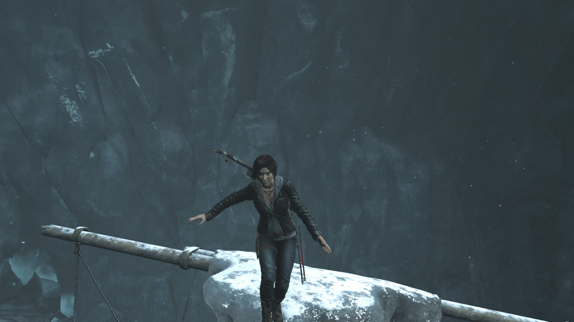Performance and graphics is always a balancing act as Lara is showing us here.