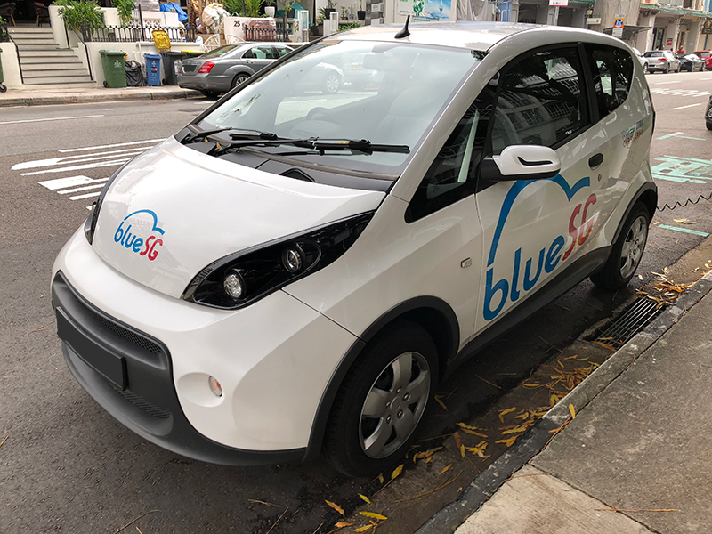 6 months with BlueSG electric vehicle car sharing: My driving