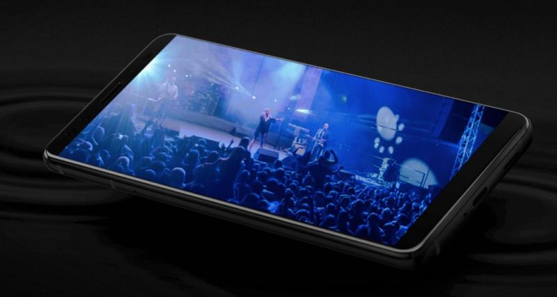 The HTC U12+ smartphone. <br>Image source: HTC