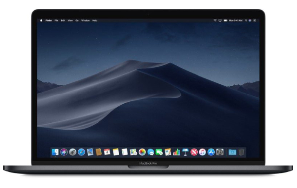 2018 MacBook Pro (Image source: Apple)