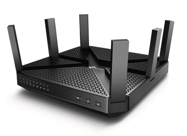 The TP-Link Archer C4000. (Image source: TP-Link)
