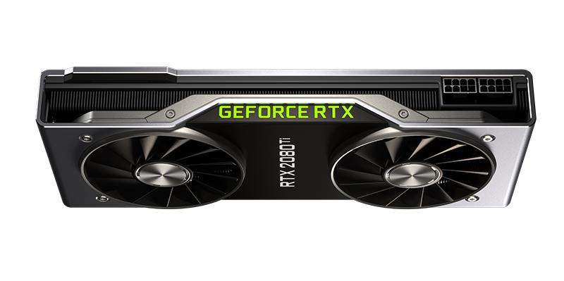 NVIDIA GeForce RTX 2080 Ti. (Image Source: NVIDIA)