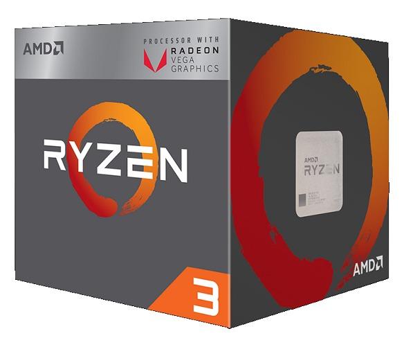 AMD Ryzen 3 2200G.