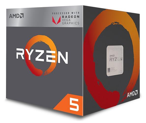 AMD Ryzen 5 2400G.