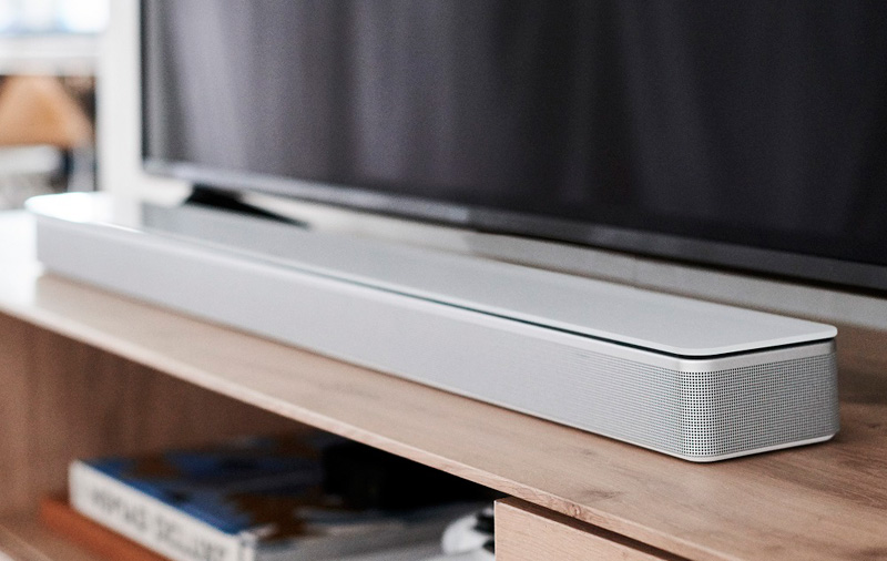 The Soundbar 700 comes with a tempered glass top.
