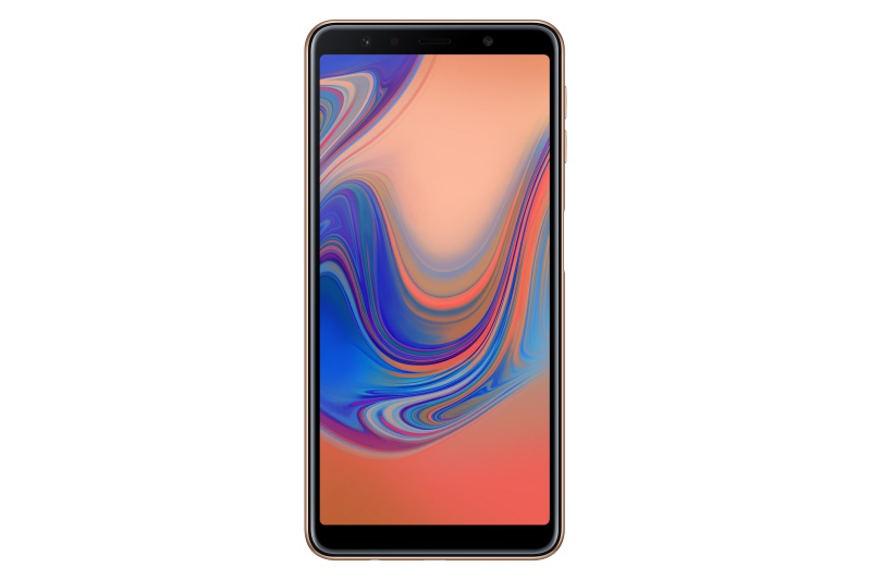 The Samsung Galaxy A7 (2018). <br> Image source: Samsung