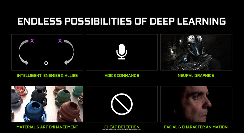 These are just some of the applications of deep learning. (Image Source: NVIDIA)