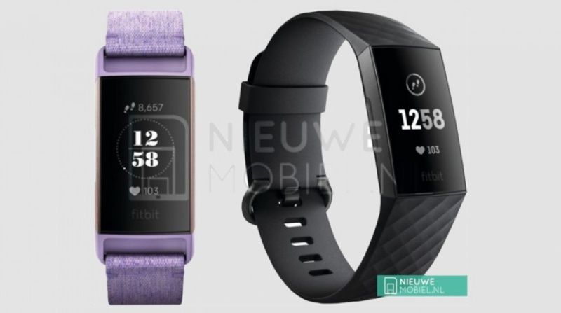 Purported photo of the Fitbit Charge 3. <br>Image source: nieuwemobiel