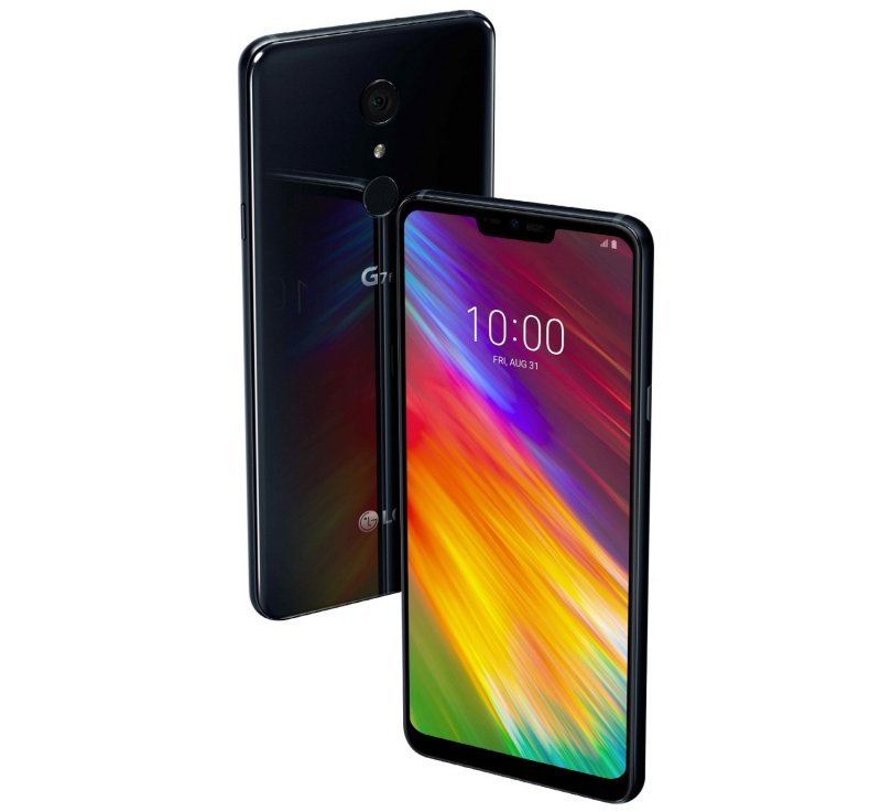 The LG G7 Fit. <br> Image source: LG