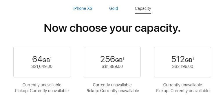 iphone xr max price in singapore