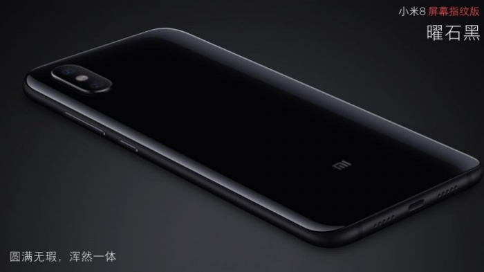 The Xiaomi Mi 8 Pro.