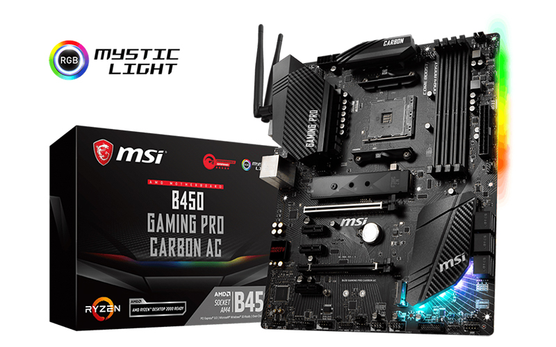 MSI : AMD B450 motherboard round-up: Overclocking for the