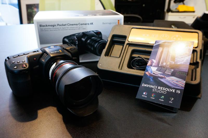 In Pictures The New Blackmagic Design Pocket Cinema Camera 4k Hardwarezone Com Sg