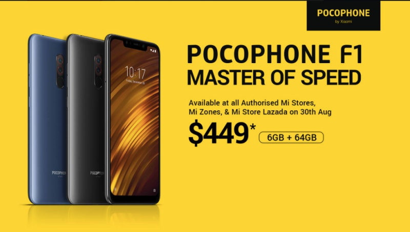 d4cd233fa16 Xiaomi s Pocophone F1 arrives in Singapore on 30 Aug - HardwareZone ...