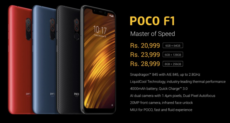 Xiaomi's Poco F1 phone has flagship specs for less than S