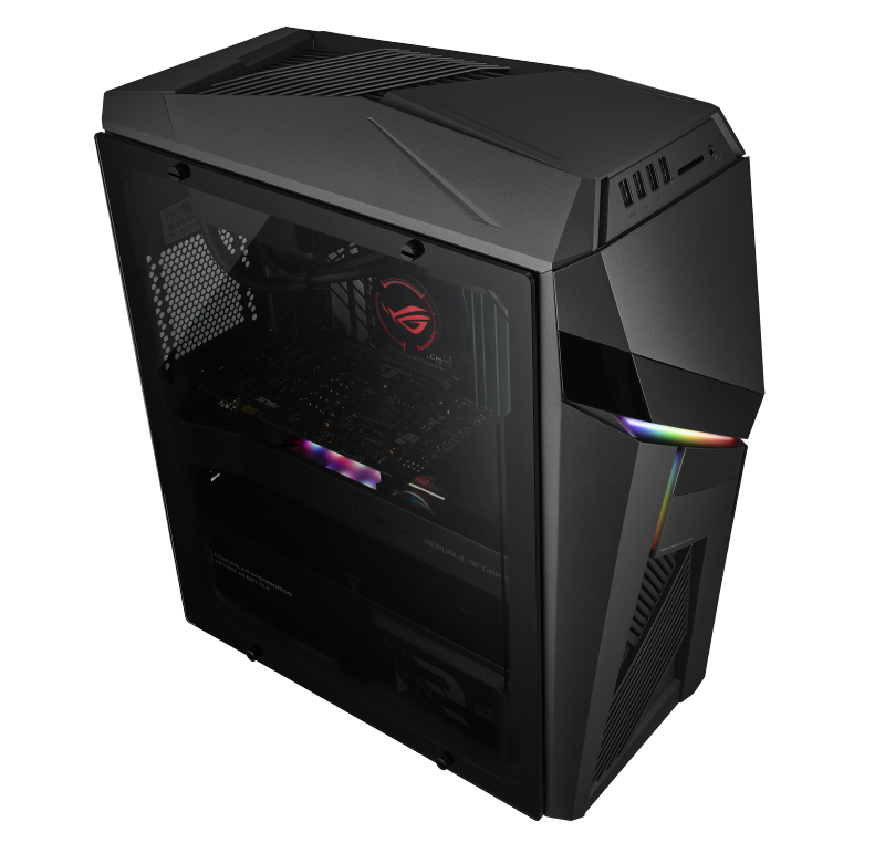 The ROG Strix GL12 is an ideal fuss-free desktop system for gamers seeking performance and convenience. (Image source: ASUS)