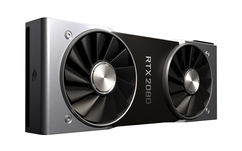 NVIDIA GeForce RTX 2080. (Image Source: NVIDIA)