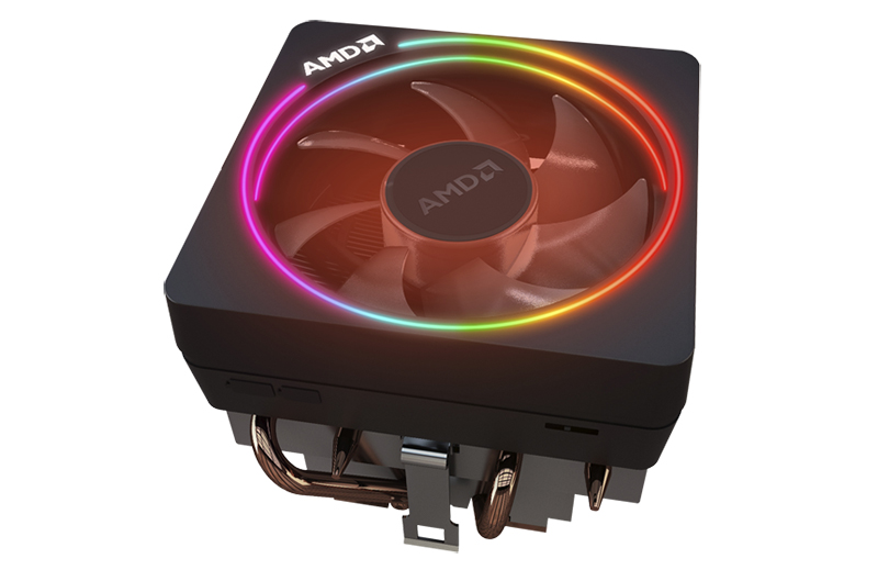The Ryzen 7 2700X comes bundled with a Wraith Prism cooler. (Image Source: AMD)
