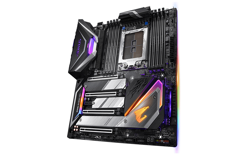 The X399 Aorus Xtreme is Gigabyte's new X399 flagship. (Image Source: Gigabyte)