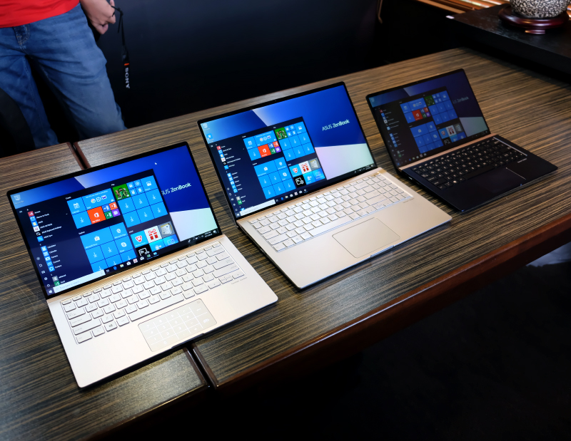 Behold, the new ZenBook 13, 14, and 15.